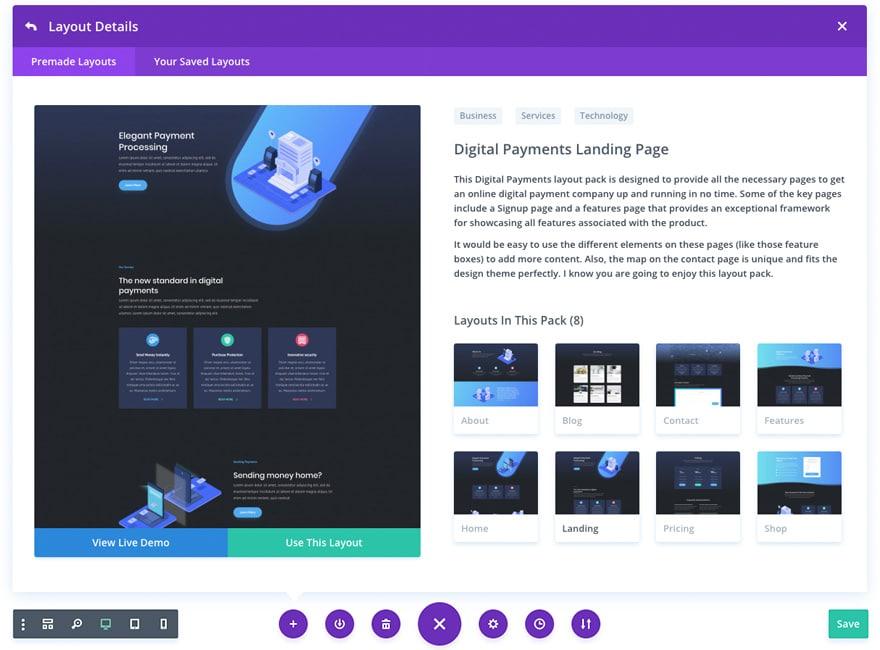 Premium WordPress Theme Layout