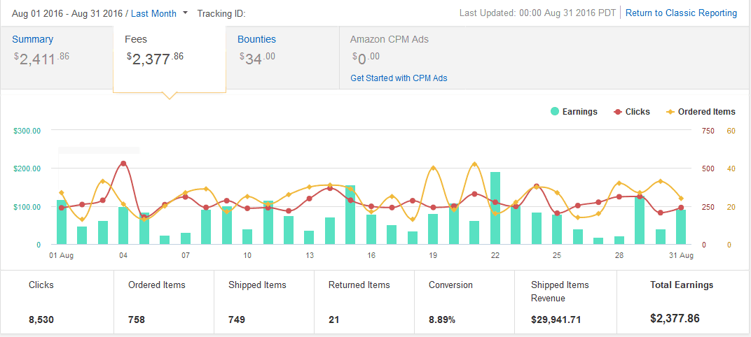 My 1 Year Old Amazon Affiliate Website Making $3,000 Per Month