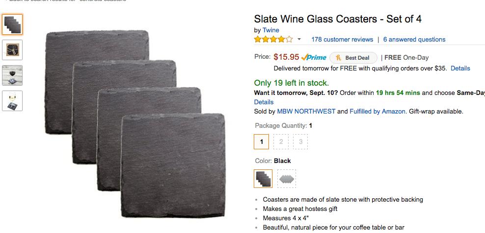 Amazon product example