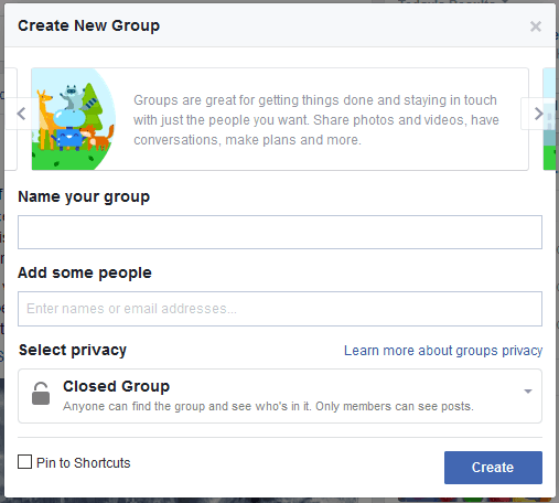 How to create a Facebook group using your computer in 2017