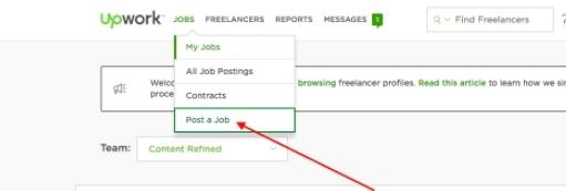 Jobs Tab