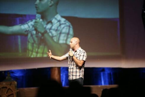Podcast 128: The Business Behind Getting Paid to Speak at Events with Grant Baldwin