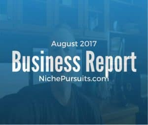August Business Report: Selling a Niche Business and Launching a New Software Product