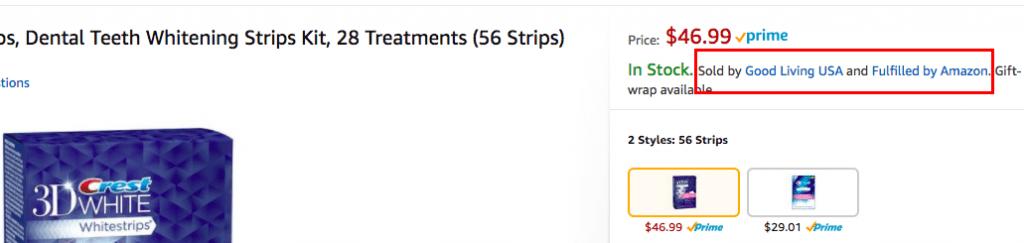 Amazon Retail Arbitrage Example