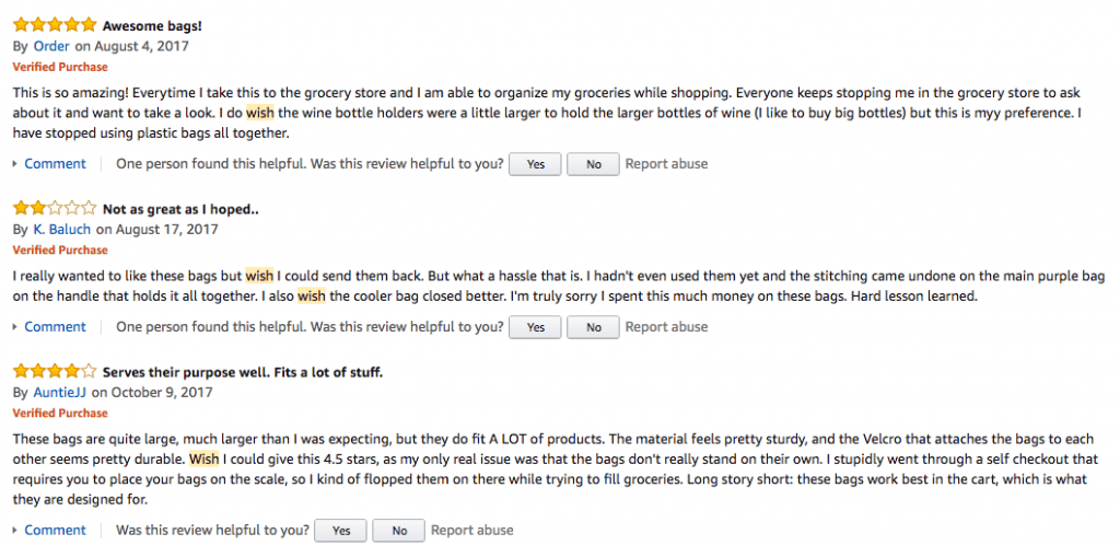 Review Example Amazon