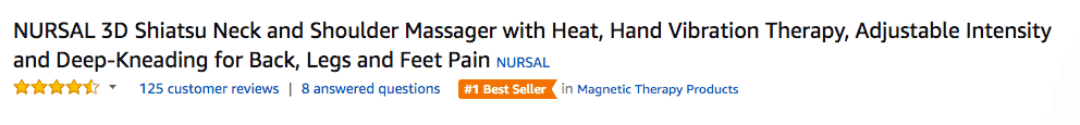 Good Amazon Product Title