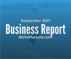 Niche Pursuits Business Report for September 2017