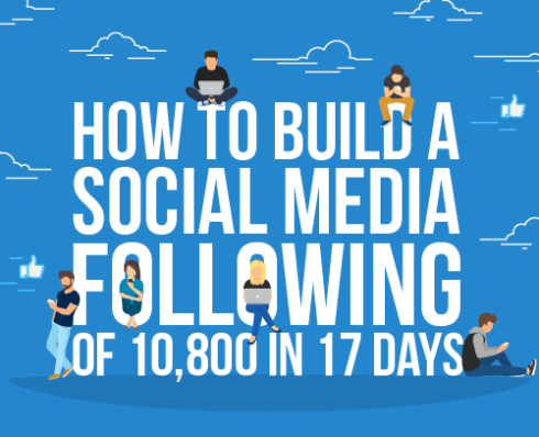 How to Build a Social Media Following of 10,800 in 17 Days