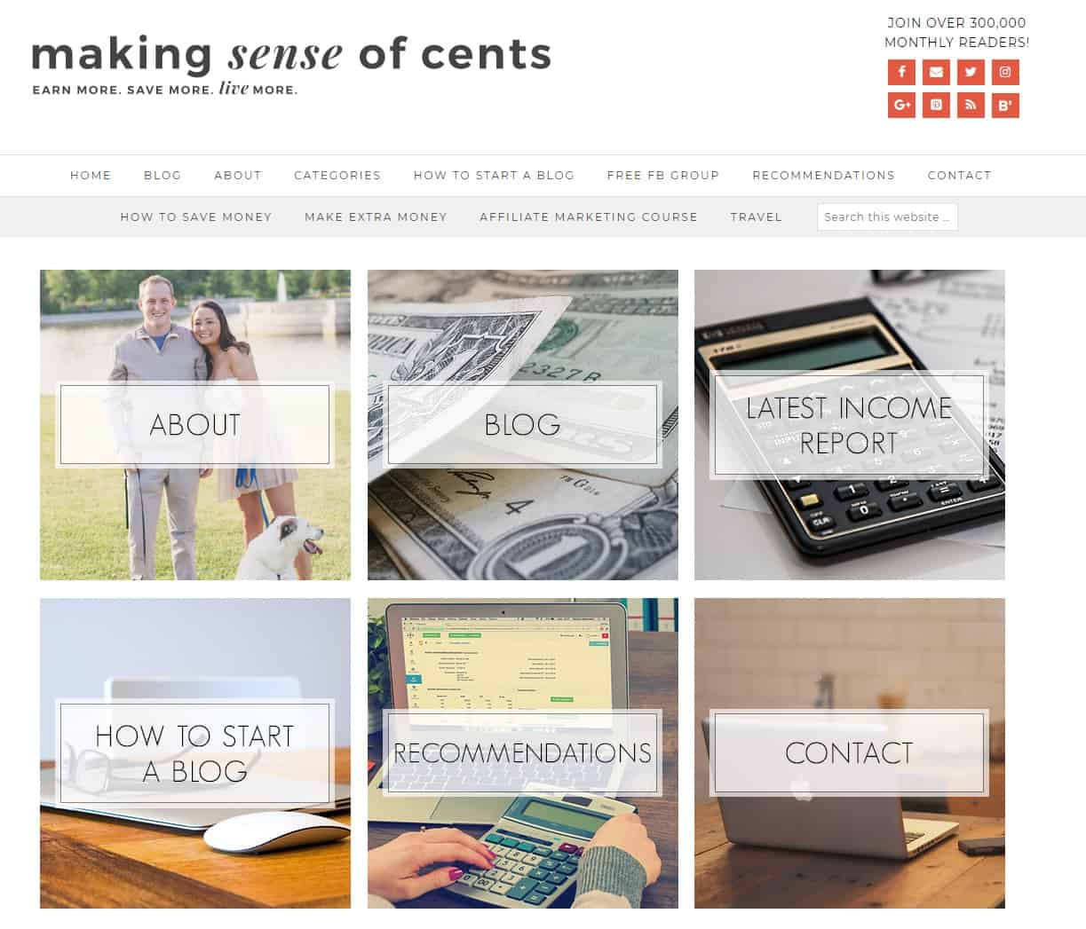 Financial niche site idea