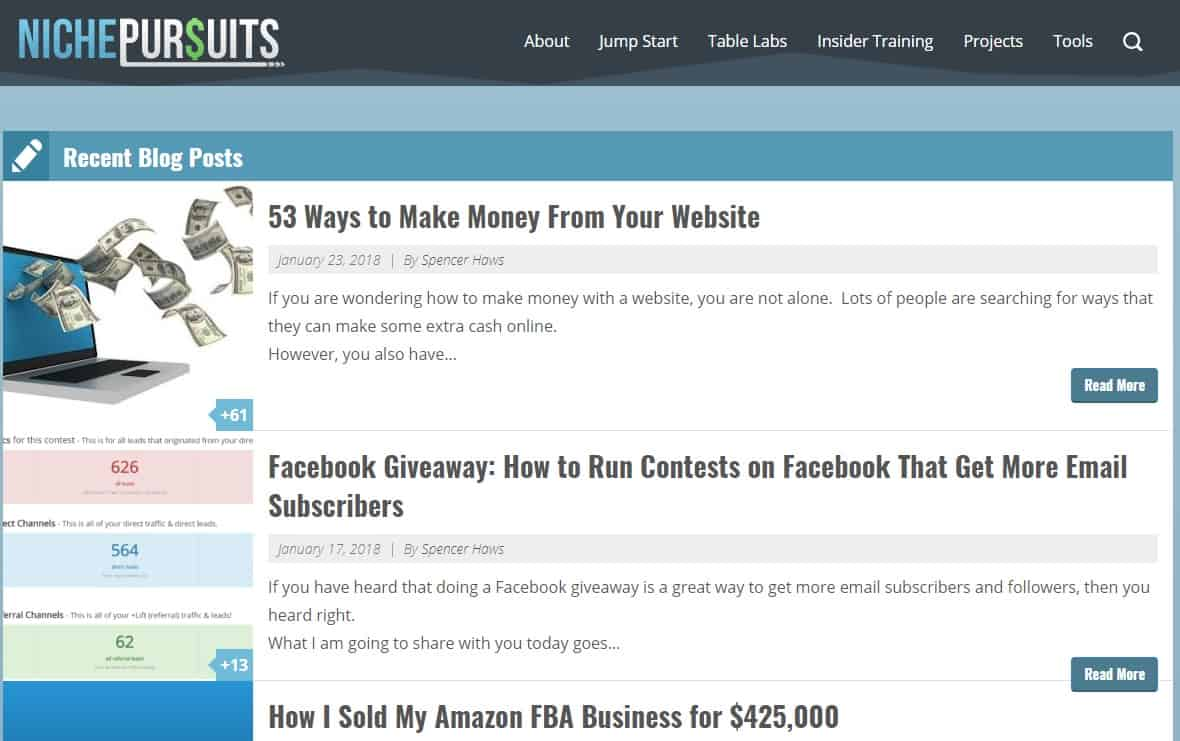 26 Examples of Successful Niche Websites That Are Working