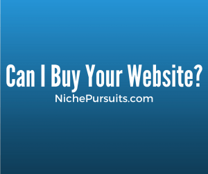 Can I Buy Your Website?