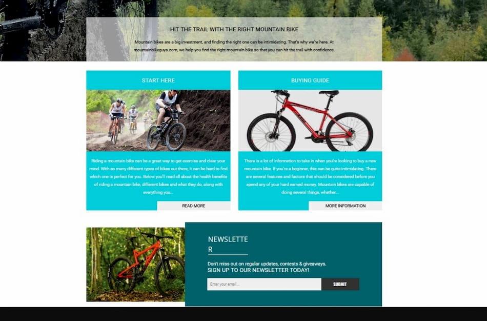 Brand Builders custom affiliate website