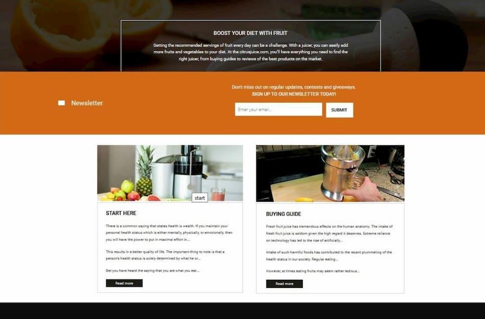 Brand Builders kitchen website