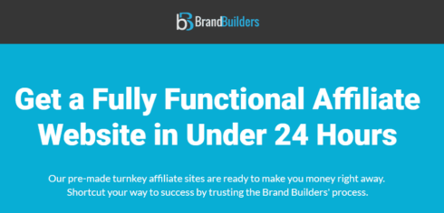 Brand Builders Review: How to Make Money with a Turnkey Website