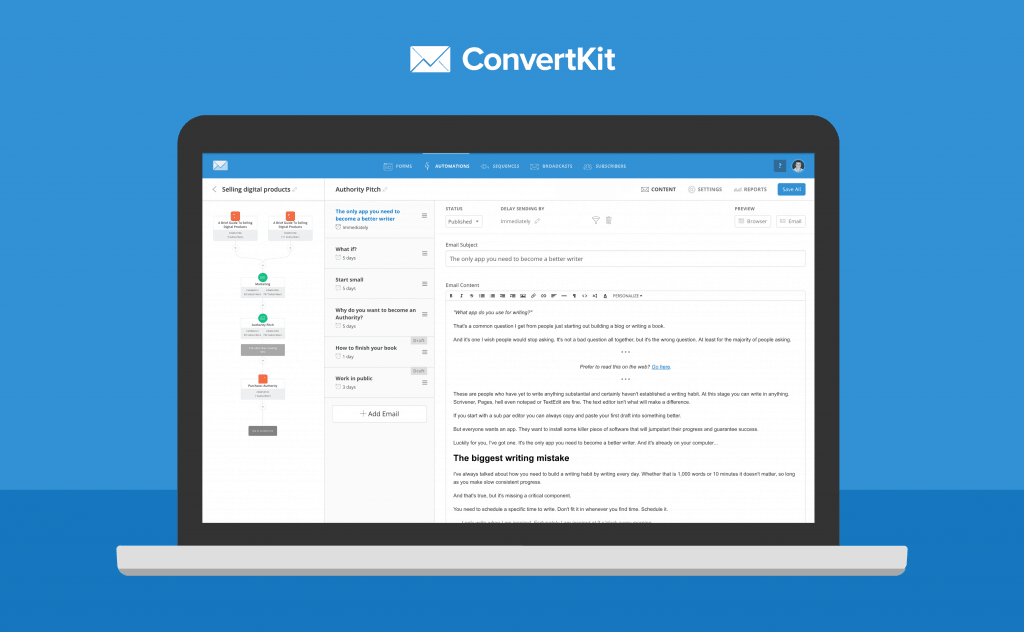 The Greatest Guide To Convertkit Vs Getresponse