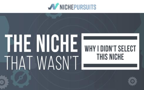 The Niche That Wasn't