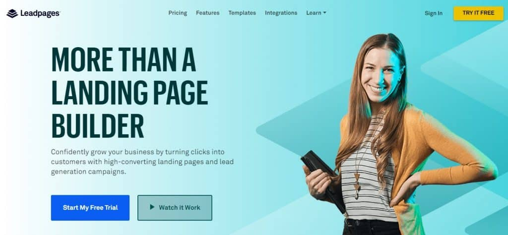 Leadpages Text