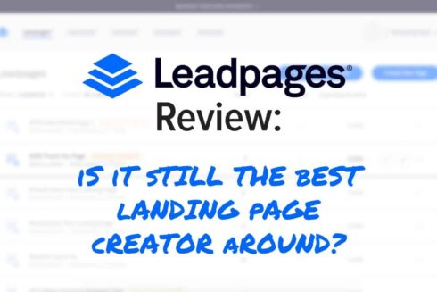 Warranty Update Leadpages
