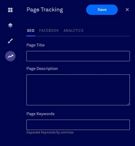 page tracking
