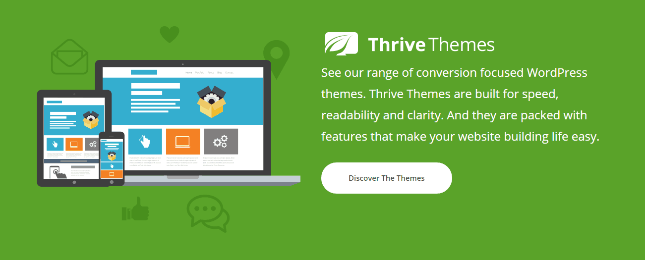 Thrive Themes WordPress Themes  Offers 2020