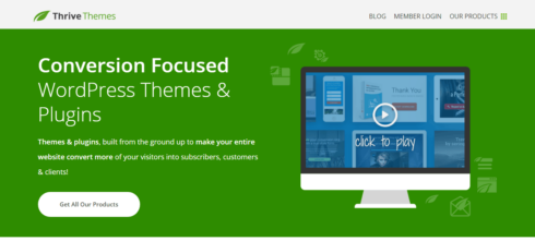 Buy  Thrive Themes WordPress Themes Official