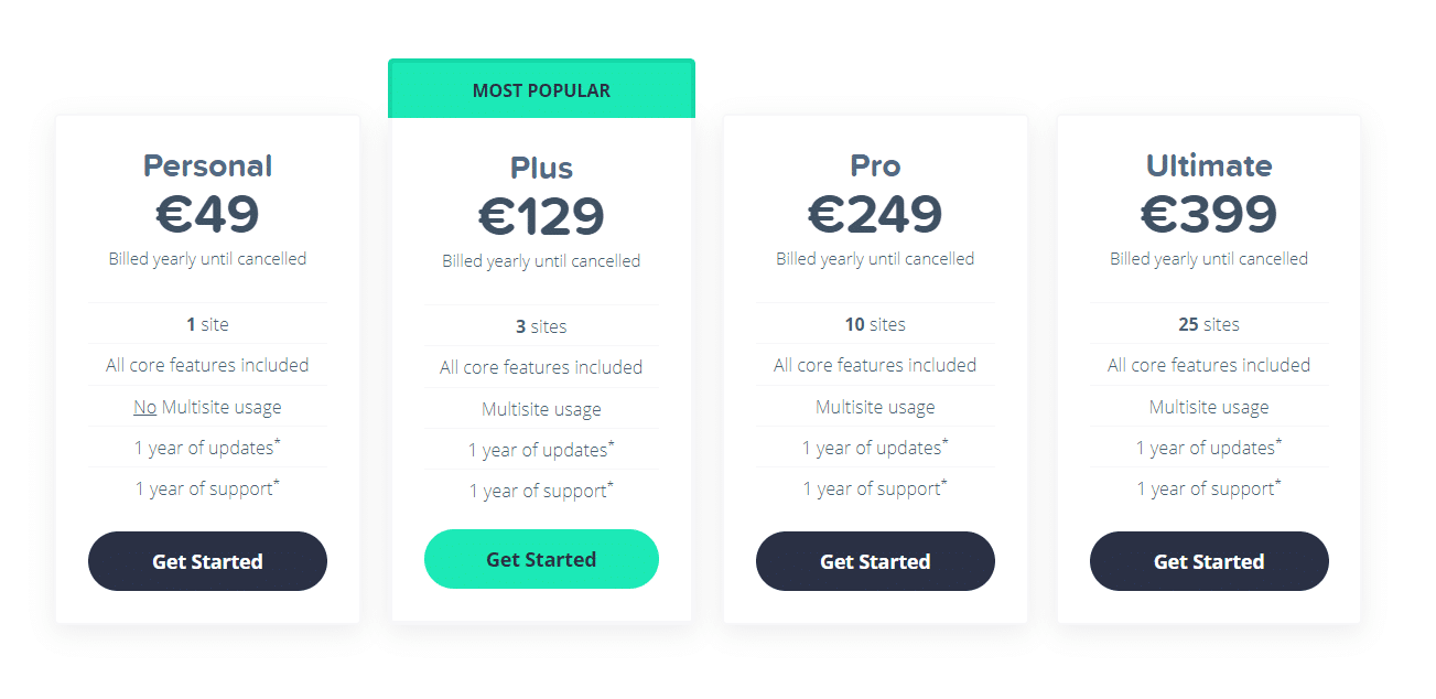 updated aawp pricing screenshot