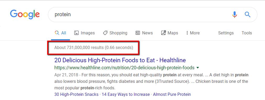 serpente proteico google