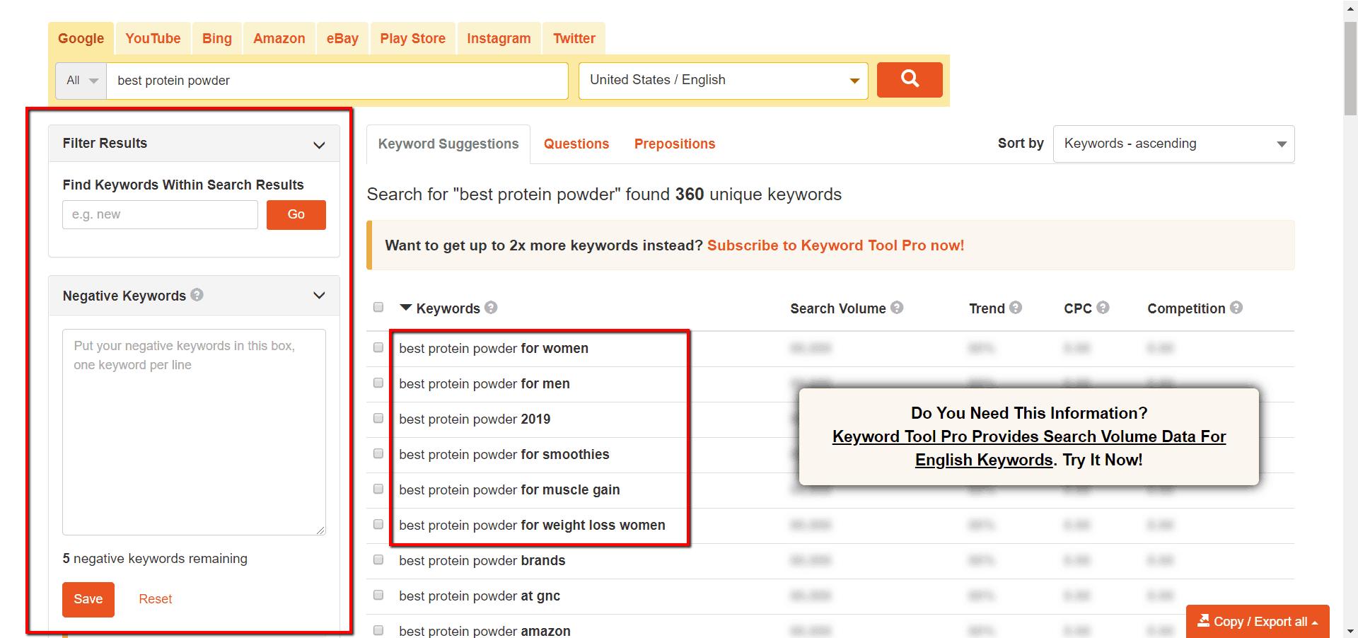 keywordtool.io long tail keywords