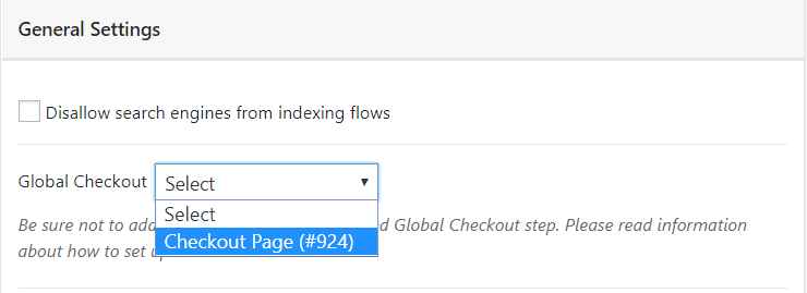 cartflows global checkout