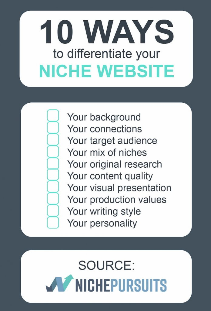Best Niche Blog Differentiators