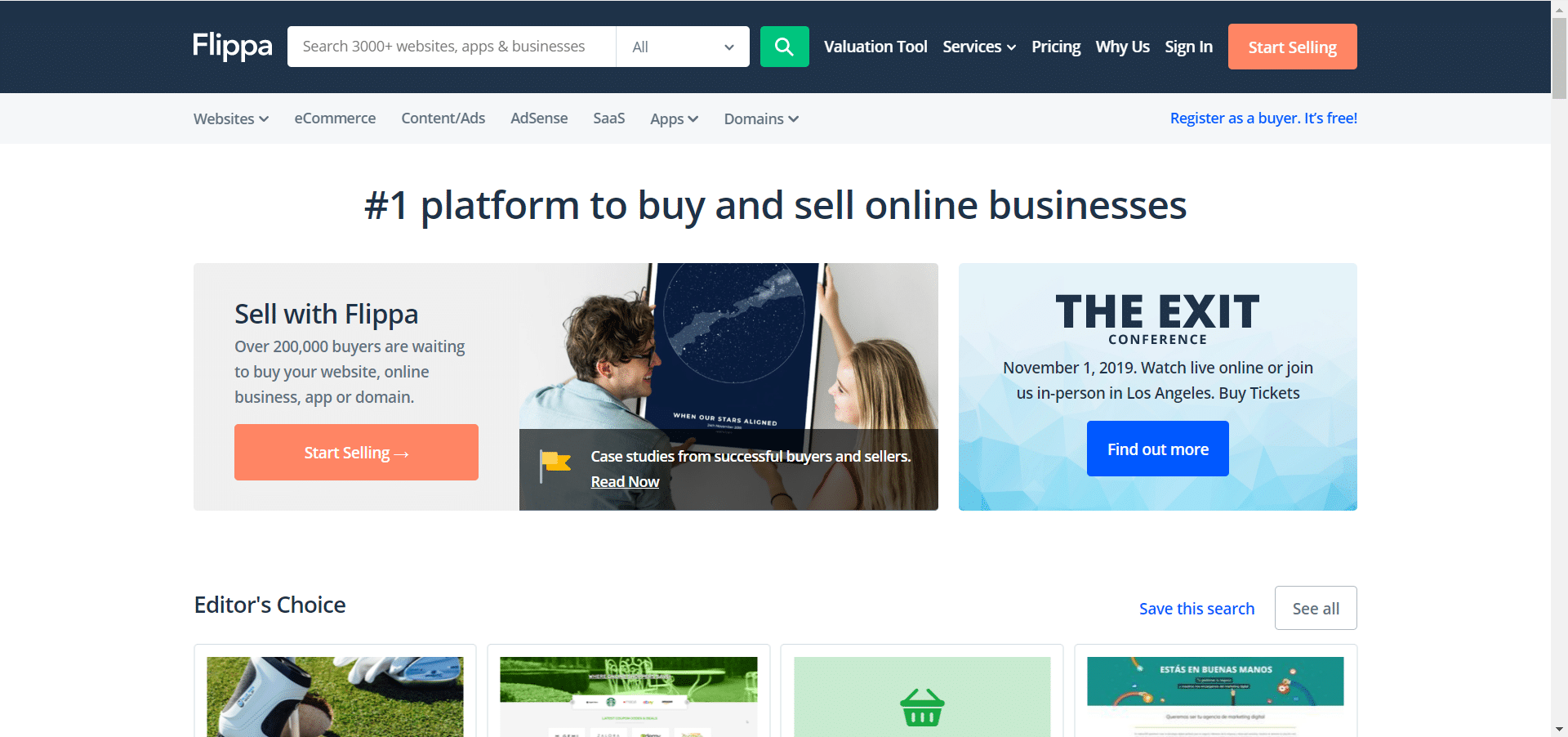 Buy A Website >> Flippa Review Can You Buy A Non Scam Website In 2020