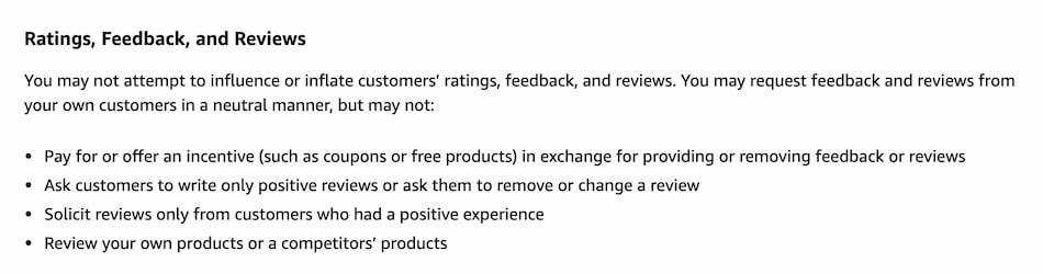 Amazon Seller Code of Conduct