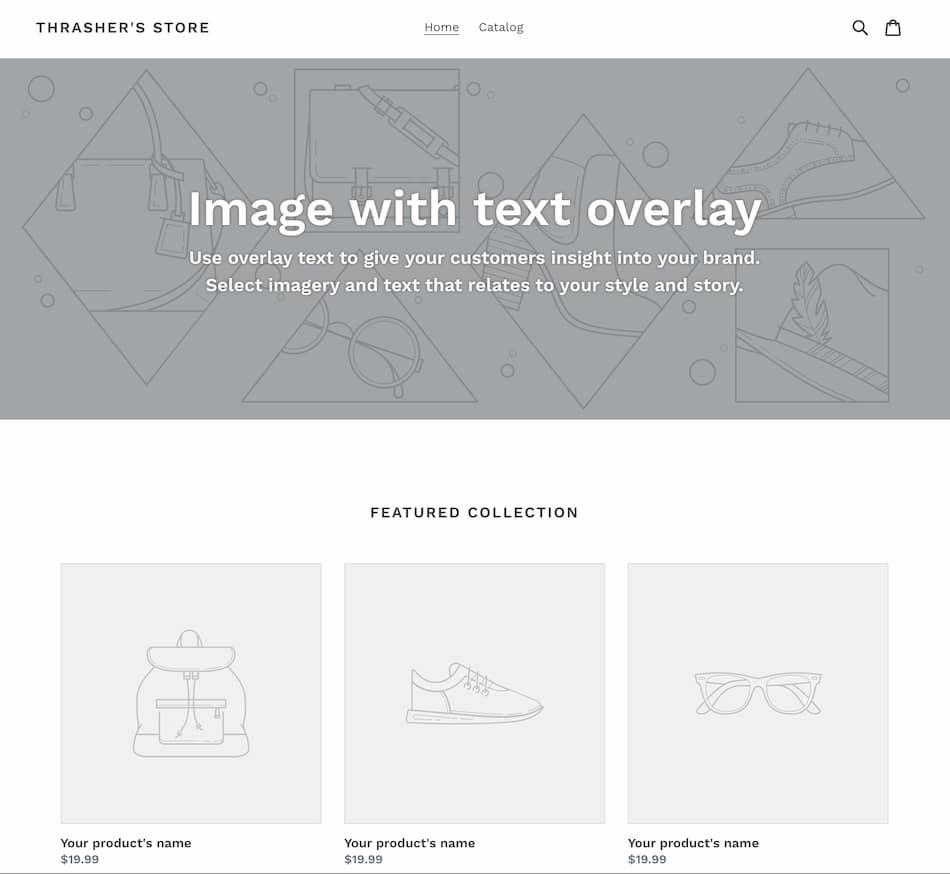 Shopify Default Store