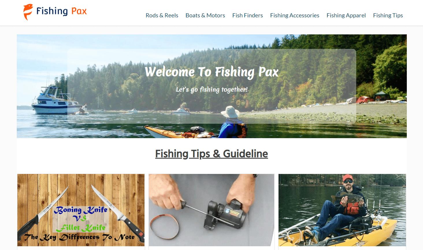 fishing pax