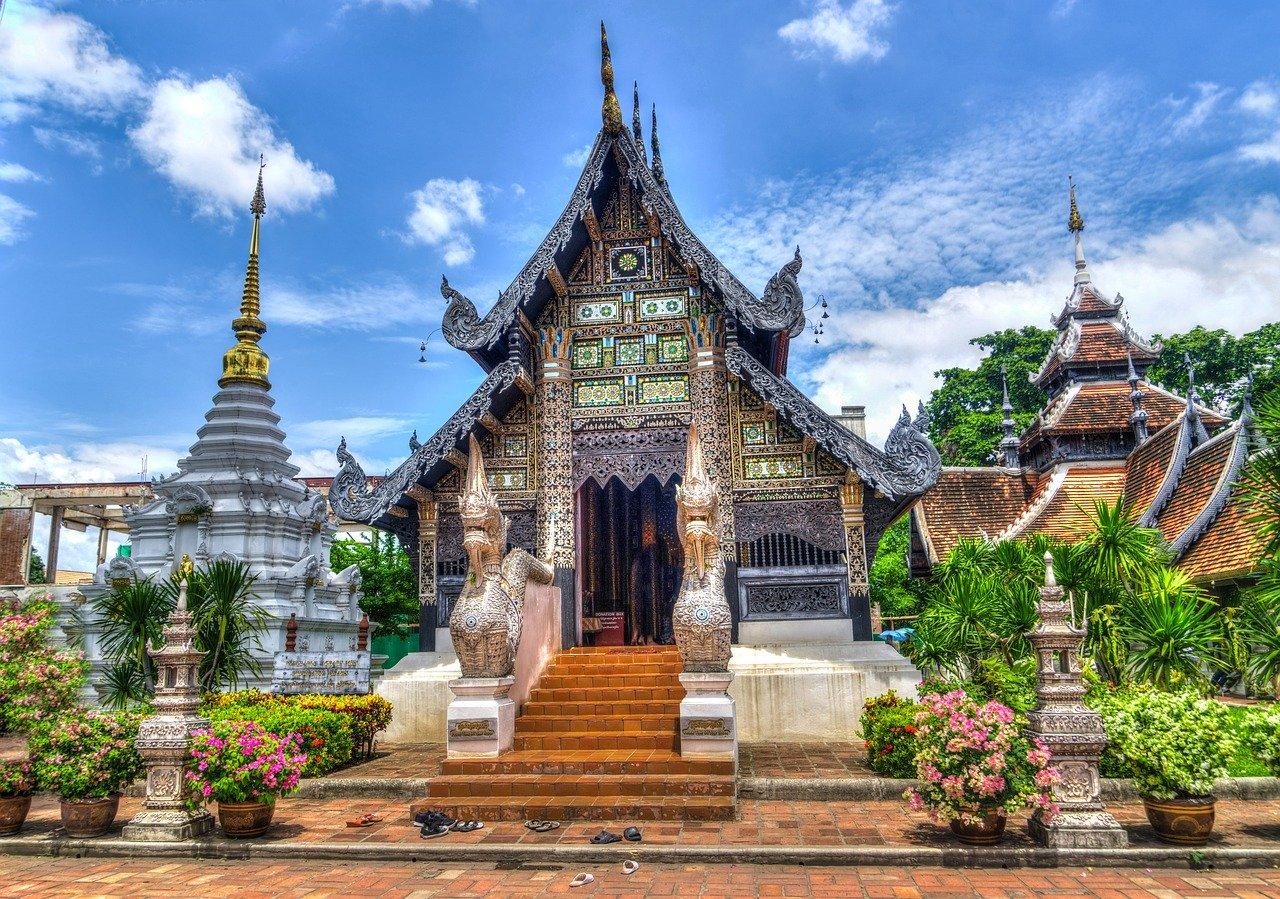 Thai Temple Chiang Mai Thailand