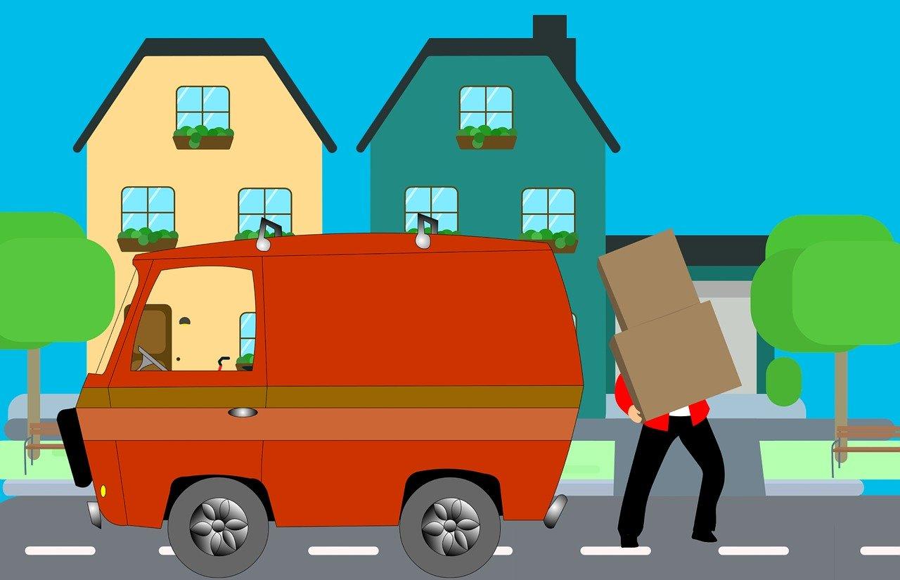 home moving van