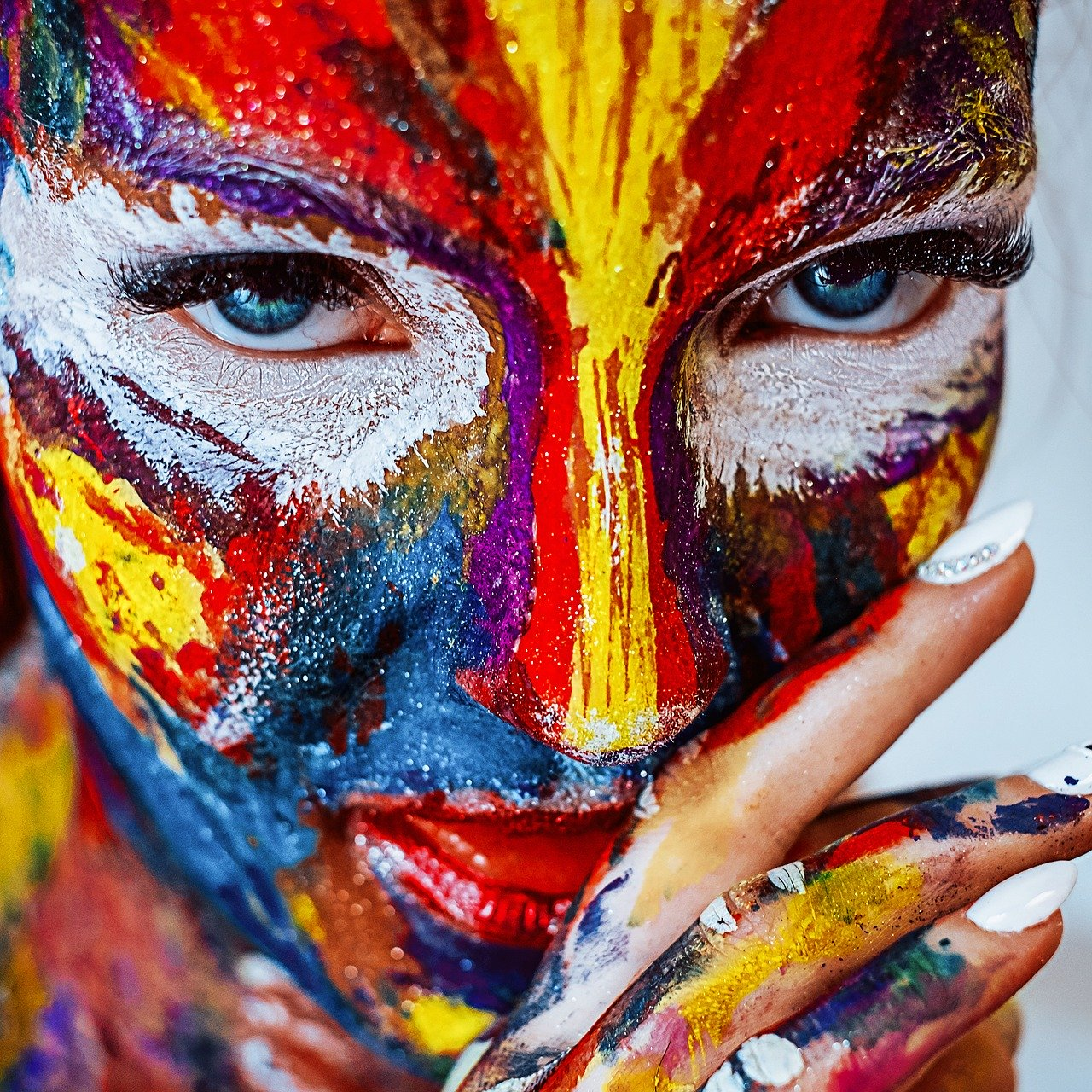 Artistic Makeup Collage