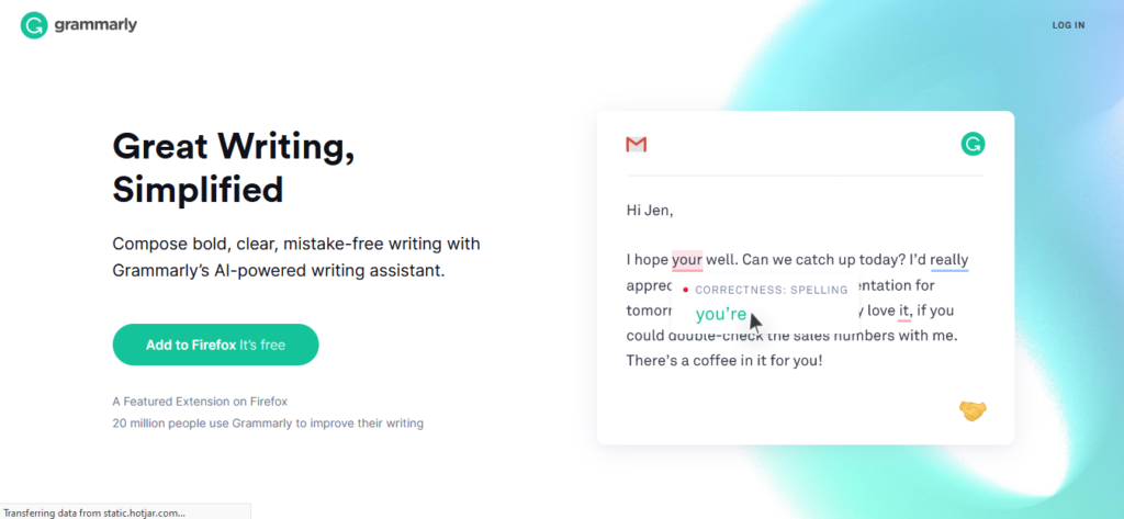 grammatical home page