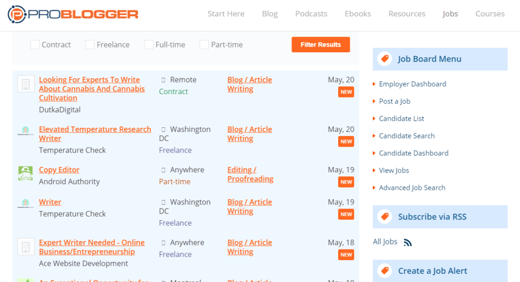 problogger jobs