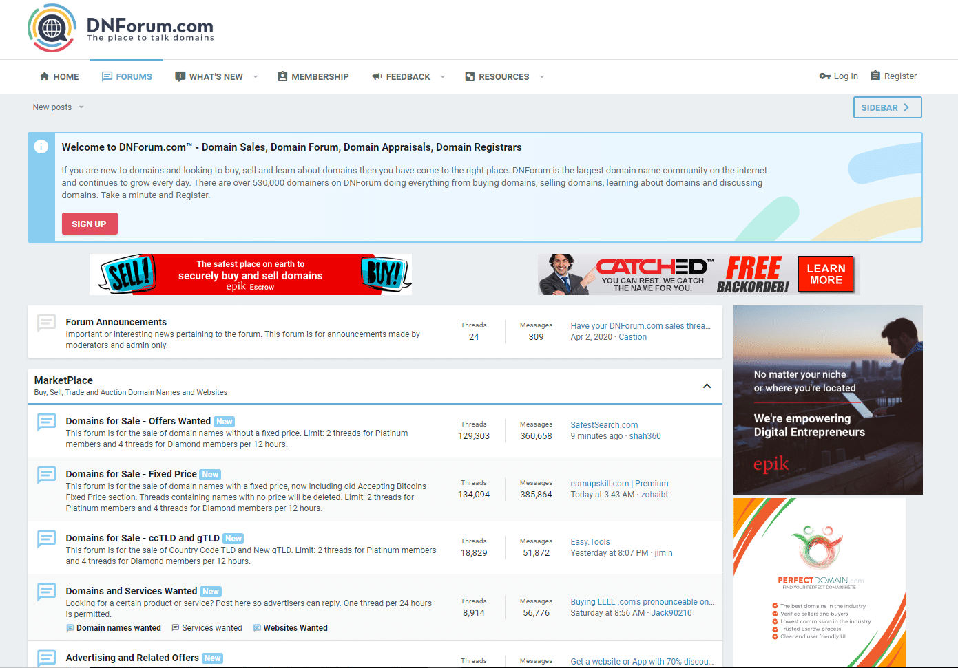 DNForum screenshot