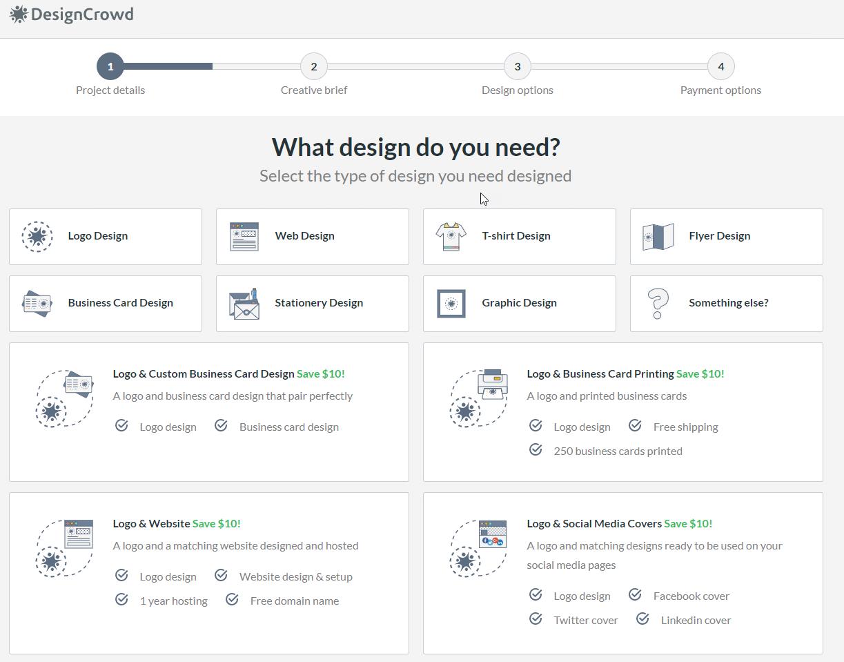 design crowd screenshot