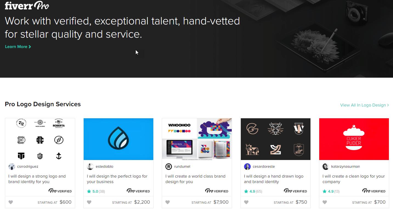 Fiverr Pro Screenshot