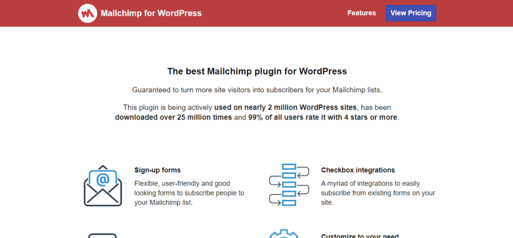 mailchimp for wordpress_2