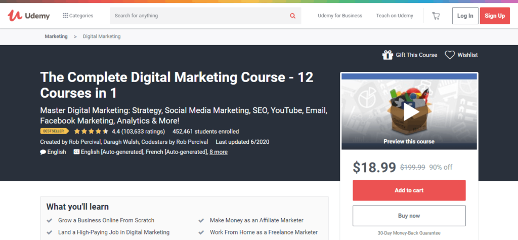 udemy digital marketing training course_1