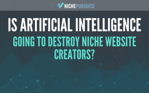 Is Artificial Intelligence, like OpenAI's GPT-3, Going to Destroy Niche Website Builders?