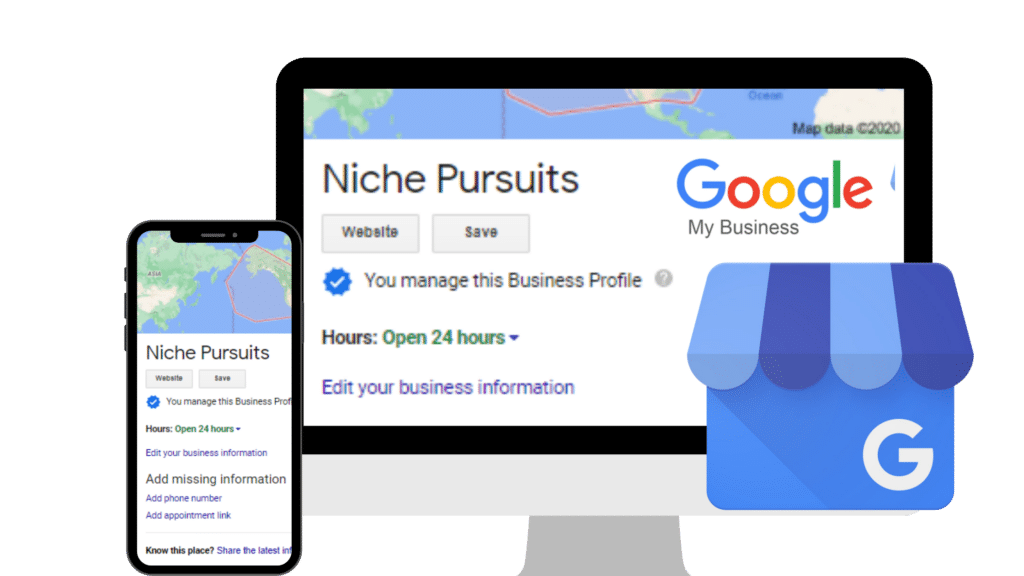 google my business for affiliate site