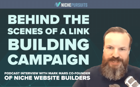 Mark Mars Niche Website Builders