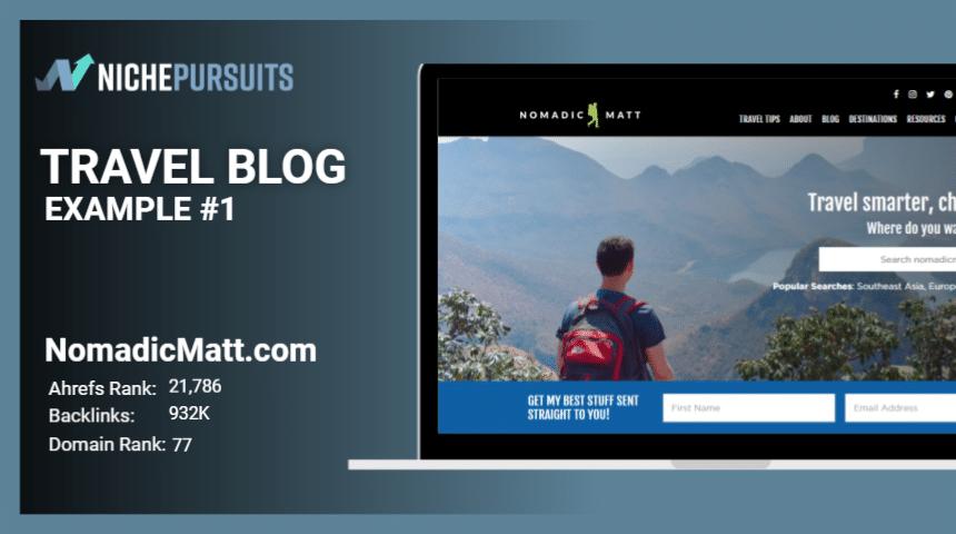 Examples of Travel Blog Nomadicmatt