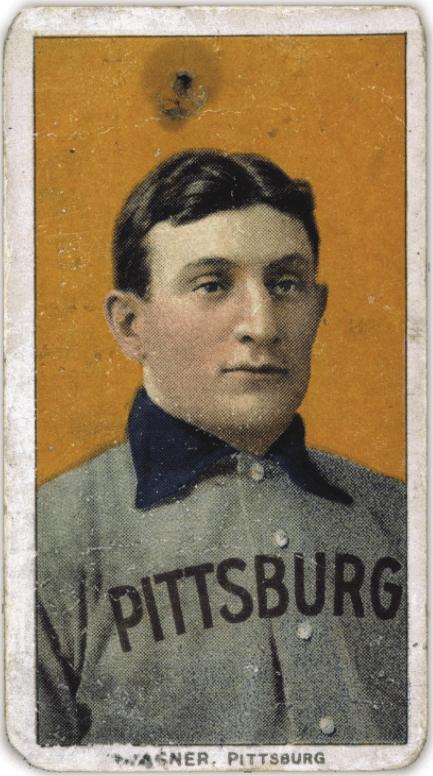 honus wagner vintage baseball card