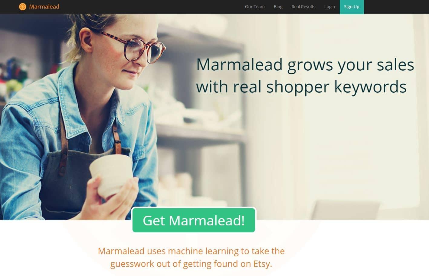 marmalead etsy keyword tool